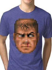 Doom Face 5 Tri-blend T-Shirt