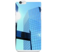 Sun in American Downtown. iPhone Case/Skin