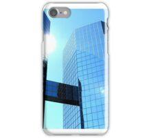 Sun in American Downtown. iPhone Case/Skin