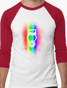 NC Loves Equality--vertical rainbow T-Shirt