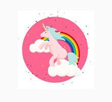 Unicorn Horse and Magic Rainbow Unisex T-Shirt
