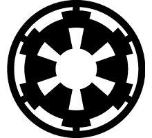 star wars empire logo Photographic Print