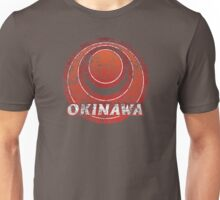 Okinawa Prefecture Japanese Symbol Distressed  Unisex T-Shirt