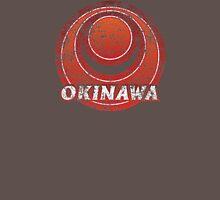 Okinawa Prefecture Japanese Symbol Distressed  Unisex T-Shirt