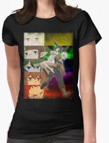 Danmachi - Is it wrong to pick up girls in a dungeon? Womens Fitted T-Shirt