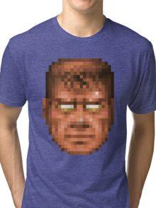 Doom Face 7 Tri-blend T-Shirt