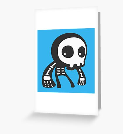 Little Skully Greeting Card
