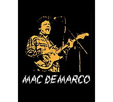 Mac Demarco Live  Photographic Print