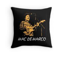 Mac Demarco Live  Throw Pillow