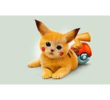 Pikachu Pop Art Photographic Print