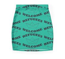 Refugees Welcome Mini Skirt