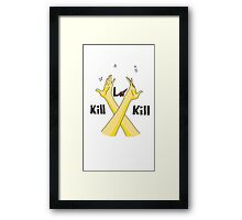 KILL LA KILL CROSSARMS Framed Print