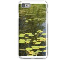 Water lily and grass.  iPhone Case/Skin