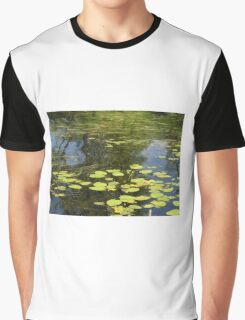 Water lily and grass.  Graphic T-Shirt