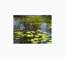 Water lily and grass.  Unisex T-Shirt