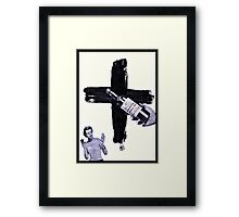 Grand Central Station of the Cross Framed Print