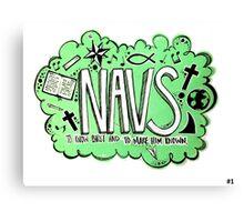 The Navigators Canvas Print