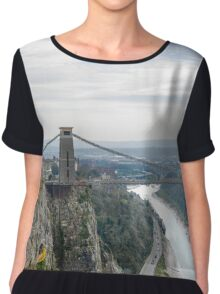 Bristol Suspension Bridge Chiffon Top