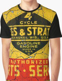 Briggs & Stratton small engines Graphic T-Shirt
