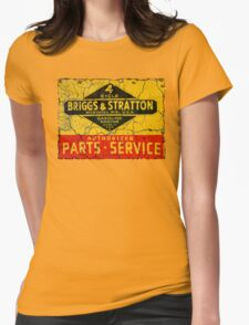 Briggs & Stratton small engines Womens Fitted T-Shirt