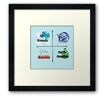 The Elements Framed Print