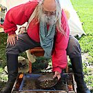 Demonstration of Gold Panning by Martha Sherman