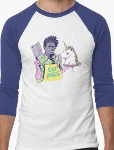 Eat Magic Men's Baseball ¾ T-Shirt