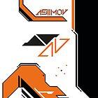 Counter Strike Asiimov design by DutchFireFox