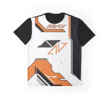 Counter Strike Asiimov design Graphic T-Shirt
