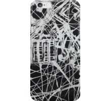 Caos abstracto iPhone Case/Skin