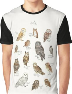 Owls Graphic T-Shirt