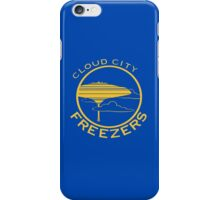 Cloud City Freezers - Star Wars Sports Teams iPhone Case/Skin