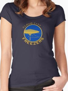Cloud City Freezers - Star Wars Sports Teams Women's Fitted Scoop T-Shirt