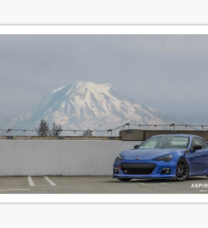 Mt. Rainier BRZ Sticker