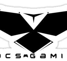 DOCSGAMING Freedom Logo Sticker