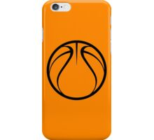 Orange Basketball iPhone Case/Skin