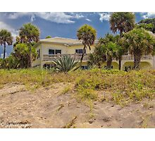 The House at Blind Pass Beach  Photographic Print