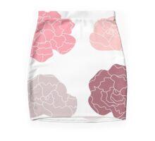 Sweet Peony flowers collection Mini Skirt