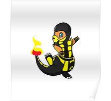 ScorpioZard in flames [Cartoon] Poster