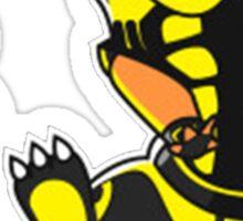 ScorpioZard in flames [Cartoon] Sticker