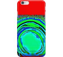 THE CIRCLED COLORFUL MOON BLOB iPhone Case/Skin