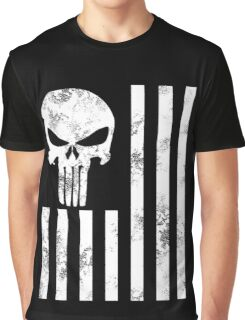 Punisher Skull Sniper Graphic T-Shirt