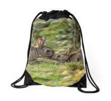 Cute Wildlife Tenderness Drawstring Bag