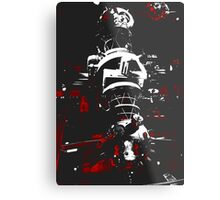 Space Machine (Trio Collection) Metal Print