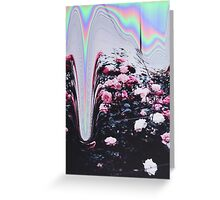 Cyber Roses Greeting Card