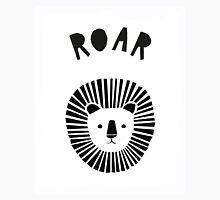 Lion Roar in Monochrome Unisex T-Shirt