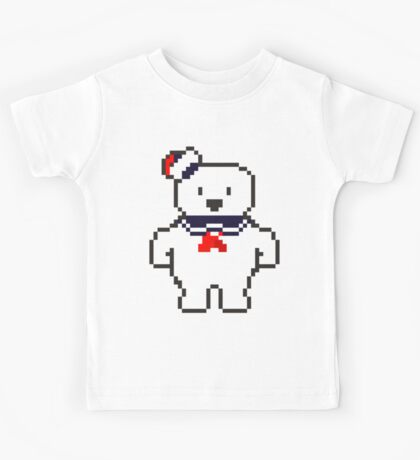 Stay Puft Marshmallow man Kids Tee