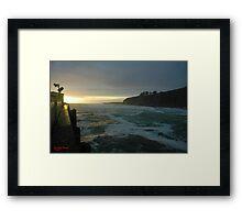 Point Arena Framed Print