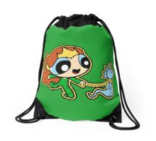 Aquatic Pet Friends Drawstring Bag