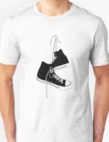Black High Tops Unisex T-Shirt